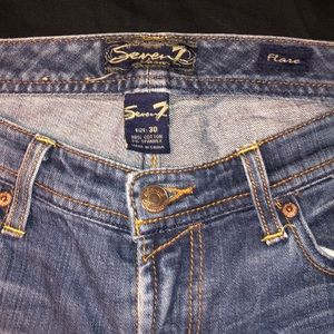 Seven 7 jeans size 30 flare.